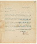 Letter to Mr. James Harrison, December 5, 1894