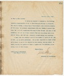 Letter to To Whom it may Concern, December 10, 1894