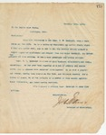 Letter to Empire Plow Works, December 10, 1894