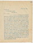 Letter to Governor Murphy J. Foster (LA), December 10, 1894