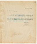 Letter to Mr. Aaron Parker, December 18, 1894