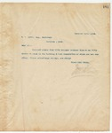 Letter to W. A. Brown, Esq., Sec, December 18, 1894