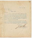 Letter to Hon. Q.O. Eckford, December 18, 1894