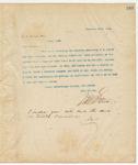 Letter to W.W. Harvey, Esq., December 24, 1894