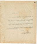 Letter to Joseph Podesta, December 30, 1894