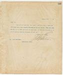 Letter to Mr. James Harrison, January 1, 1895