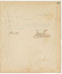 Letter to W. A. Beown, Esq., Sec, January 16, 1895