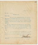 Letter to Mr. James Harrison, January 21, 1895