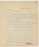 Letter to L. L. Pearson, Esq., January 25, 1894