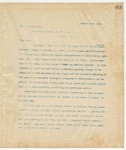 Letter to Geo. G. Power, Esq., January 29, 1895