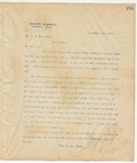 Letter to Mr. W. A Broughton, February 2, 1895