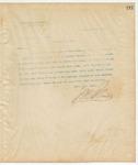 Letter to G. M. Johnson, Esq., Clerk, February 7, 1895