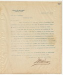 Letter to Maj. Leo Richardson, February 10, 1895