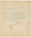 Letter to Attorney General, February 18, 1895