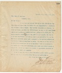 Letter to Hon. James T. Harrison, Mary 11, 1895