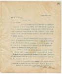 Letter to Hon. E. C. Walthall, March 12, 1895