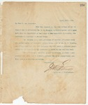 Letter to To Whom it may Concern, March 13, 1895