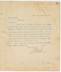 Letter to Mr. John Crump, March 14, 1895