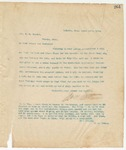 Letter to Col. P.M. Savery, March 14, 1895