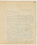 Letter to Dr. W.A. Taylor, March 14, 1895