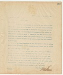 Letter to W.H. Powell, Esq., March 15, 1895