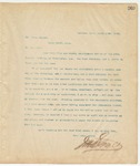 Letter to Mr. James Thomas, March 15, 1895