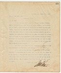 Letter to James P. Carraway, Esq., March 17, 1895