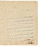 Letter to Dr. E.N.Hunt, March 17, 1895