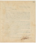 Letter to Hon. J.E. Terral, March 17, 1895