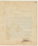 Letter to Hon. J.S. Eaton, March 17, 1895