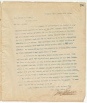 Letter to Hon. Thomas J. O'Neil, March 17, 1895