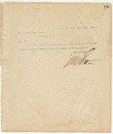 Letter to W.A. Brown, Esq, Sec., March 18, 1895