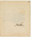 Letter to President of the United States, March 20, 1895