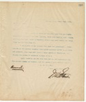 Letter to Mr. O.L. McRay, March 22, 1895