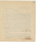 Letter to Mr. H.E. Blakeslee, March 22, 1895