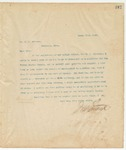 Letter to Dr. R.W. Johnson, March 22, 1895