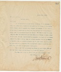 Letter to Mr. C.F. Nelson, March 22, 1895