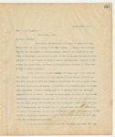 Letter to Hon. J.S. McNeily, March 24, 1895