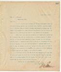 Letter to Hon. L.C. Dulaney, March 25, 1895
