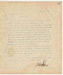 Letter to E.C. Peguis, Esq., March 24, 1895