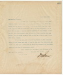 Letter to Mrs. Mary Inge Hoskins, March 25, 1895