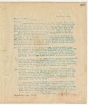 Letter to Hon. W.C. Cauthen, March 25, 1895
