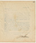 Letter to Hon. Hoke Smith, March 25, 1895