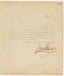 Letter to Hon. W.H.Maybin, March 26, 1895
