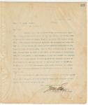 Letter to Gen C.M. Dodge, March 26, 1895