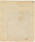 Letter to Col. John A. Blair, March 29, 1895