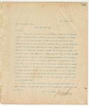 Letter to R.A. Vancleave, Esq., April 3, 1895