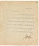 Letter to Mr. J.C. Clark, April 3, 1895