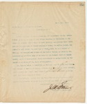 Letter to Secretary of State, April 4, 1895