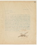 Letter to Hon. Walter M. Denny, April 5, 1895